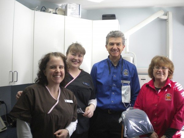 Staff at Seasons of Smiles Dental helps out with dentists with a heart.