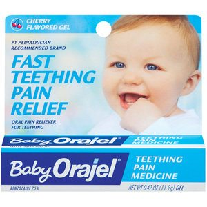 FDA warns of benzocaine complications in teething gels