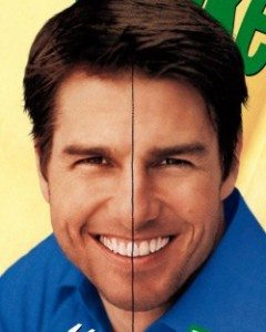Tom's Cruise's Asymmetrical Smile