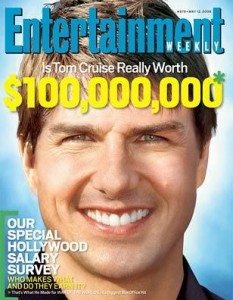Tom Cruise's Asymmetrical Smile