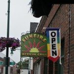 Sunfire Grill. Mexican restaurant on Main St in Rockland Maine