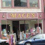 Mace's one of the clothing stores on main St in Rockland