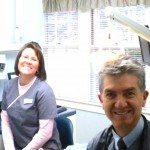 Anastasia Drew and Dr. Norman Medina of Seasons of Smile Dental.