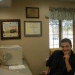 Knox County Health Clinic volunteer Kyle Ettinger.