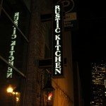 Rustic Kitchen Boston, MA.