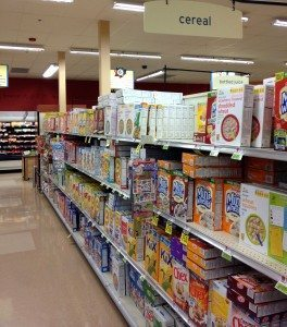 Candy Land - Cereal Aisle