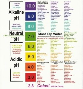 pH of common food and drink