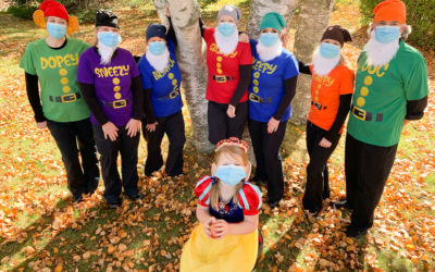 Staying safe at Halloween! Living through the Pandemic of 2020.