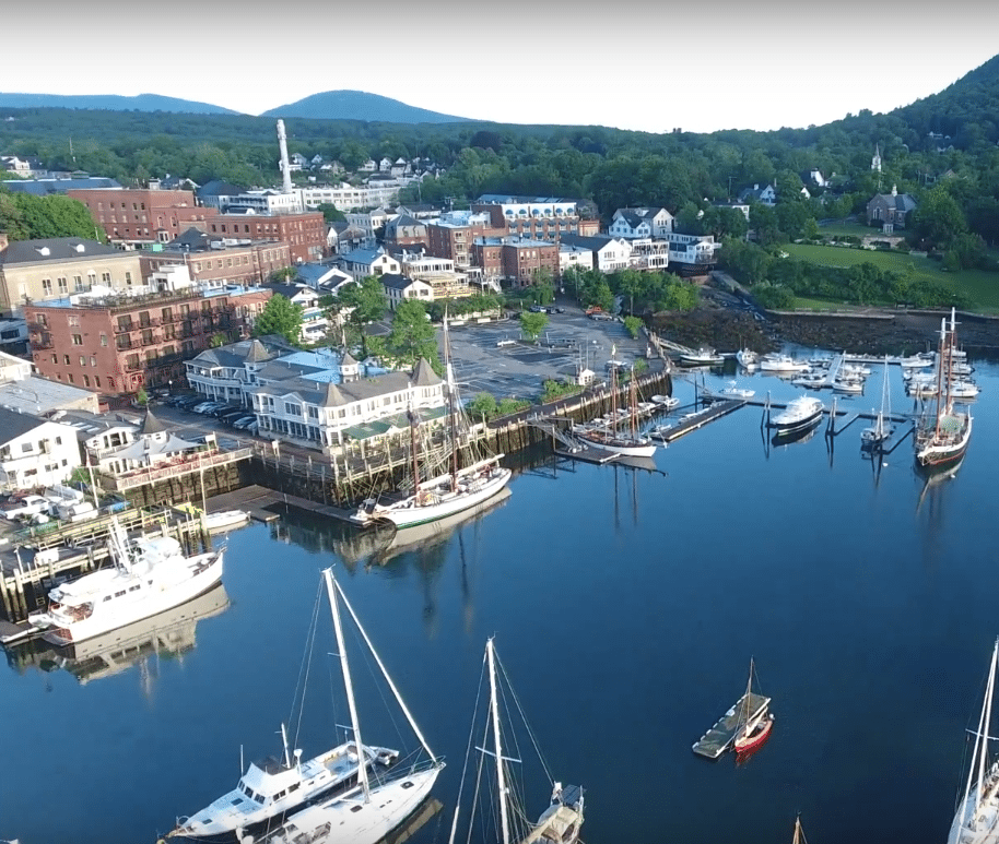 Top of the morning to you from Camden Maine.