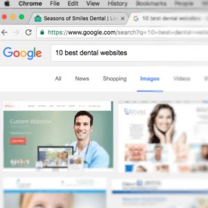 My top 10 Dental Websites