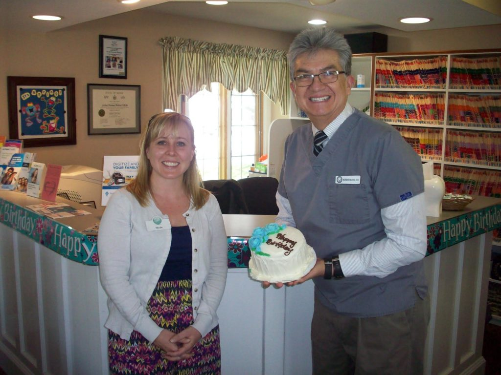 Thank you Dr. Laliberte and Nicole Look for my Birthday cake.