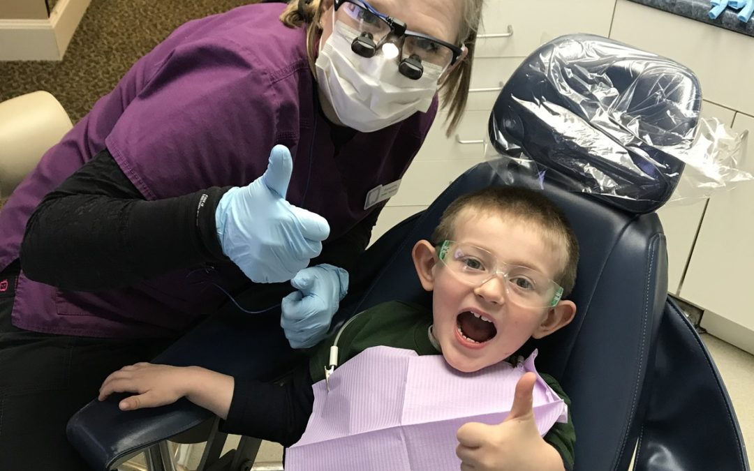Welcome to the Cavity-Free Club, Josh and Oliver!