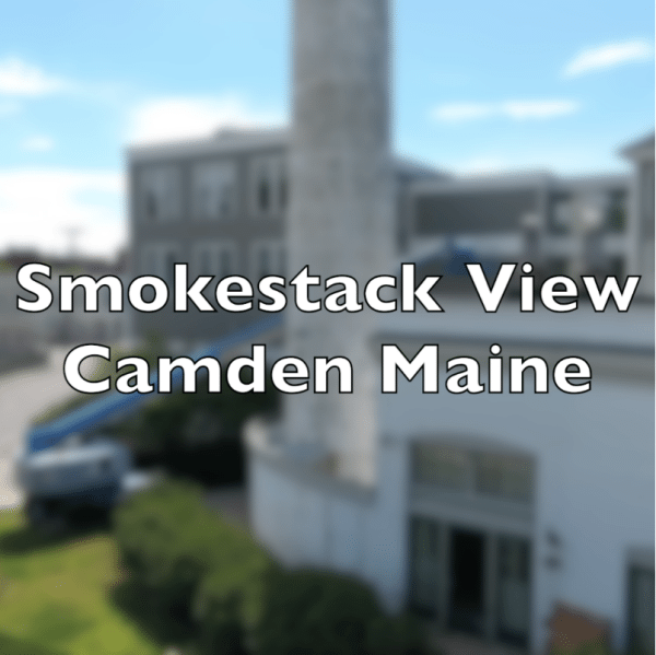 Have you ever seen the top of the smokestack in Camden Maine?