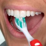Learning how to brush like a boss with the American Dental Association. (5 of 6)