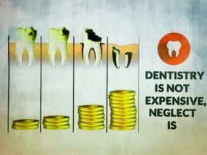 Dentistry Is Not Expensive, Neglect Is